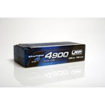 LRP HV Stock Spec Shorty GRAPHENE-4 4900mAh Hardcase Akku - 7.6V LiPo - 135C/65C - 210g