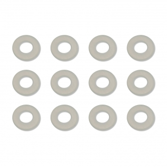 """Team Associated Washers, 1/32"""" (0.032), nylon spacers"""