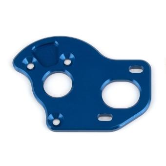Team Associated RC10T6.2 Laydown Motor Plate, blue aluminum