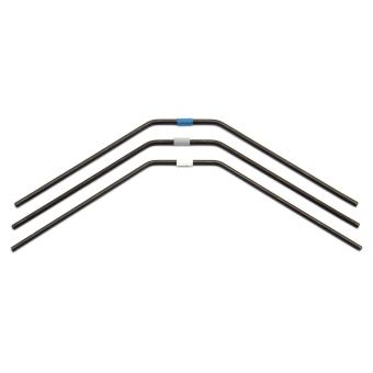Associated Electrics FT RC8B3 Rear Anti-Roll Bars, 2.5 - 2.7mm