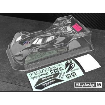 Bittydesign ROBOX 1/12 On-Road Body, Lightweight, Clear