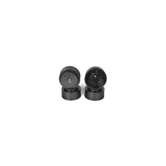 DE Racing Speedline Plus SC Wheels 12mm for TLR / Tekno - black (4pcs)