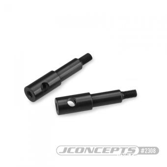 JConcepts RC10B2 | RC10B3 Aluminum Standard Front Axles - 2pcs