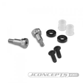 JConcepts B6.1   B74 Fin Titanium F&R Shock Stand-offs